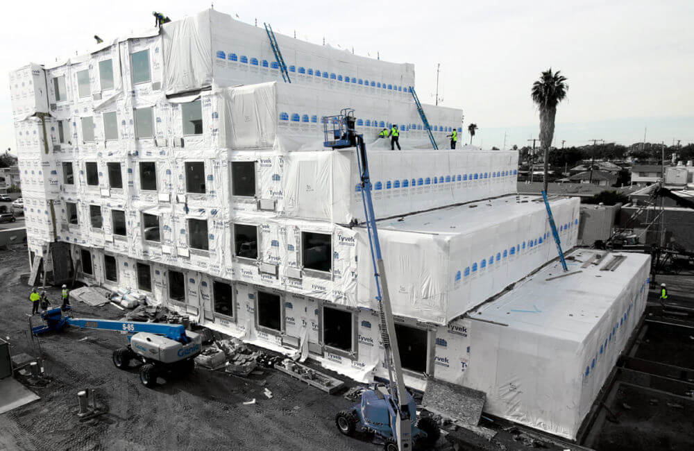 Marriott Courtyard and TownePlace Suites modular construction